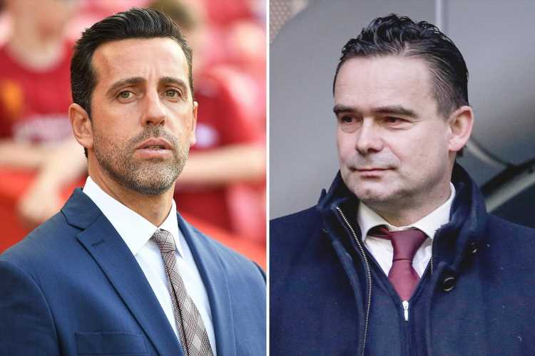 Arsenal chief Edu under increasing pressure amid club struggles on and off pitch with Marc Overmars eyed as replacement