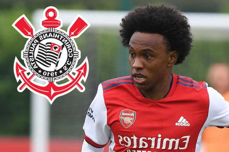 Arsenal flop Willian's agent reveals he's 'looking forward' to making Corinthians transfer happen amid exit talks