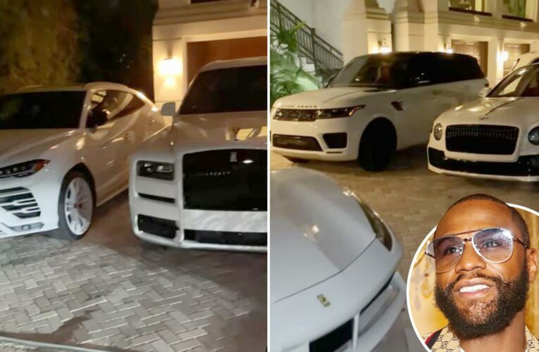 Boxing legend Floyd Mayweather adds to £20m car collection with SEVEN new motors – including Ferrari and Lamborghini