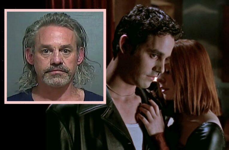 Buffy Star Nicholas Brendon Unrecognizable After Prescription Drug Arrest