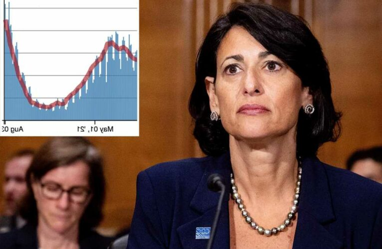 CDC director reports 43% surge in COVID cases