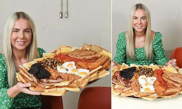 Café launches UK's biggest English breakfast with 17,000 calories
