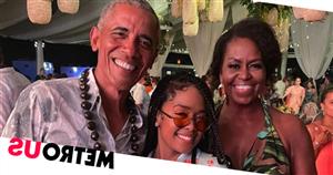 Celebrities party at Barack Obama's lavish 60th birthday bash