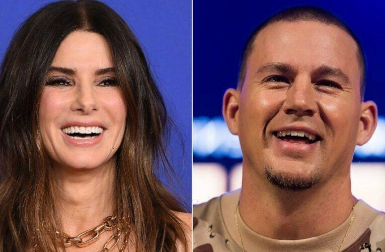 Channing Tatum pranks Sandra Bullock as they wrap new film, 'Lost City of D'