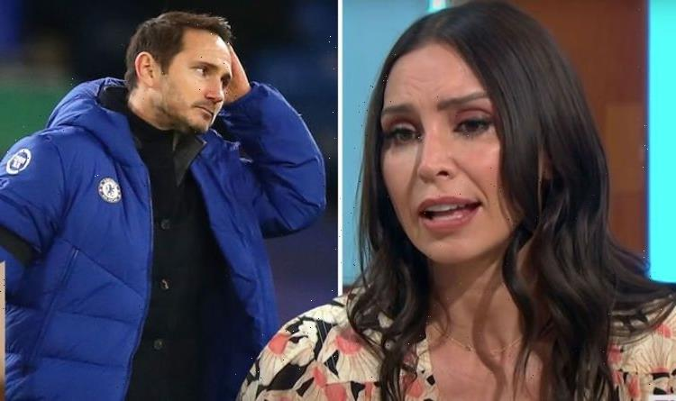 Christine Lampard breaks silence on Frank's Chelsea sacking as she talks 'horrendous' job