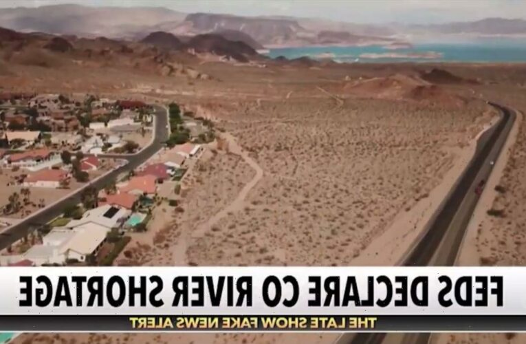 Colbert Looks on the Bright Side of Climate Change Destroying the Southwest (Video)