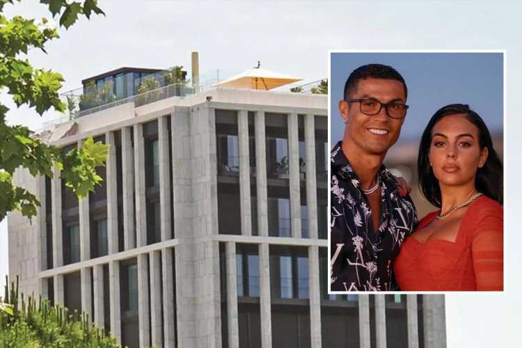 Cristiano Ronaldo given 15 days to demolish 'eyesore' rooftop glass gazebo at his £6.5m Lisbon penthouse apartment