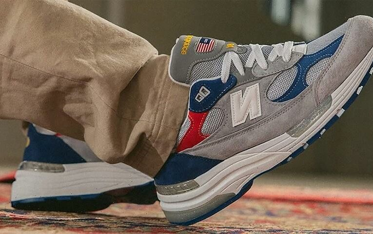 """DTLR's New Balance 992 """"Varsity"""" is Ready For Labor Day Weekend"""