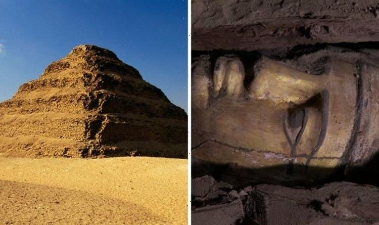 Egypt breakthrough after archaeologists found 'first gilded coffin' in Saqqara