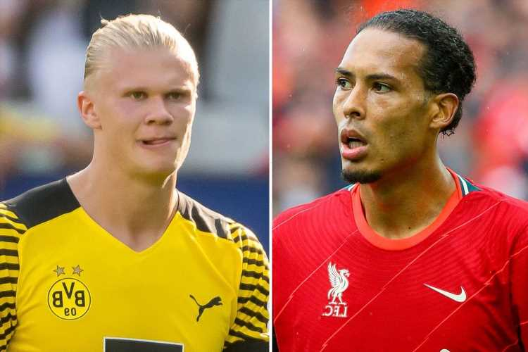 Erling Haaland brands Liverpool colossus Virgil van Dijk the best defender he has ever faced thanks to three attributes