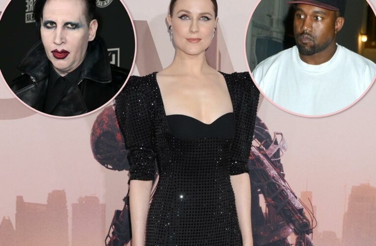 Evan Rachel Wood Responds To Kanye West Inviting Marilyn Manson Onstage: 'You Get What You Give'