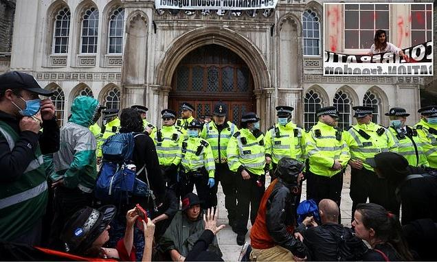 Extinction Rebellion launches wave of protests set to disrupt London