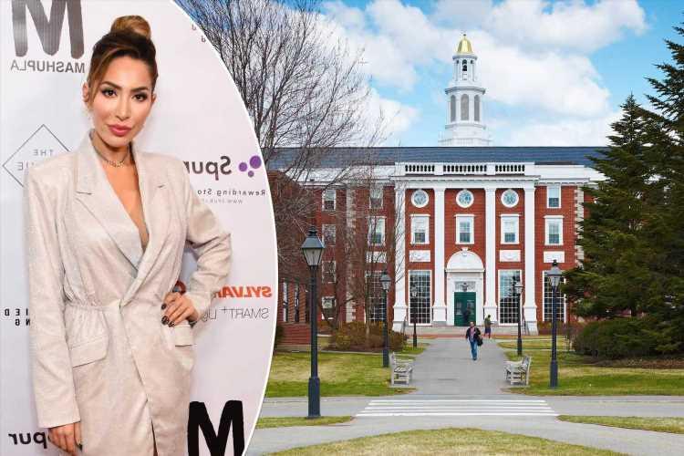 Farrah Abraham calls Harvard educationally abusive, plans to sue