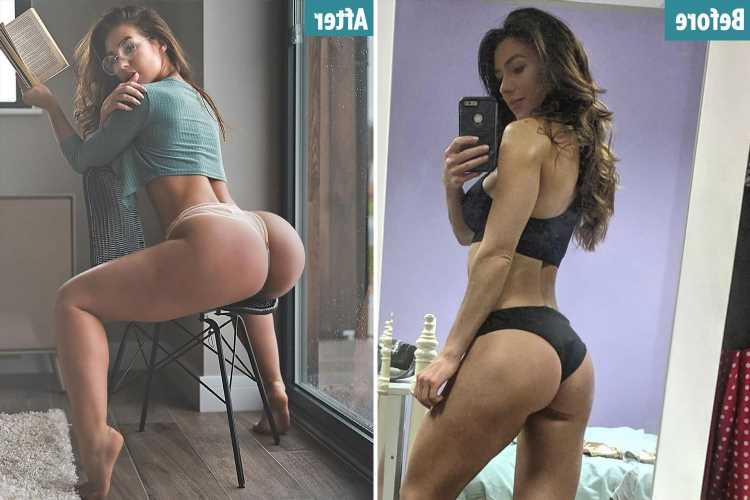 From eating more to fixing 'lazy glutes' – fitness influencer shares how you can get a perky bum like hers