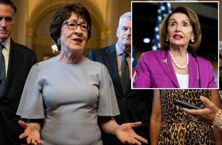 GOP Sen. Susan Collins rips Nancy Pelosis partisan Capitol riot probe