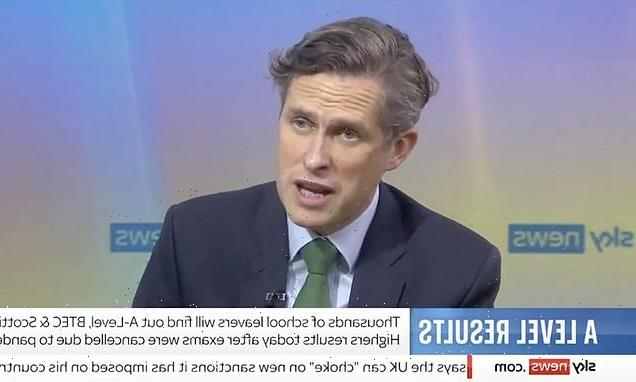 Gavin Williamson defends A-level grade inflation