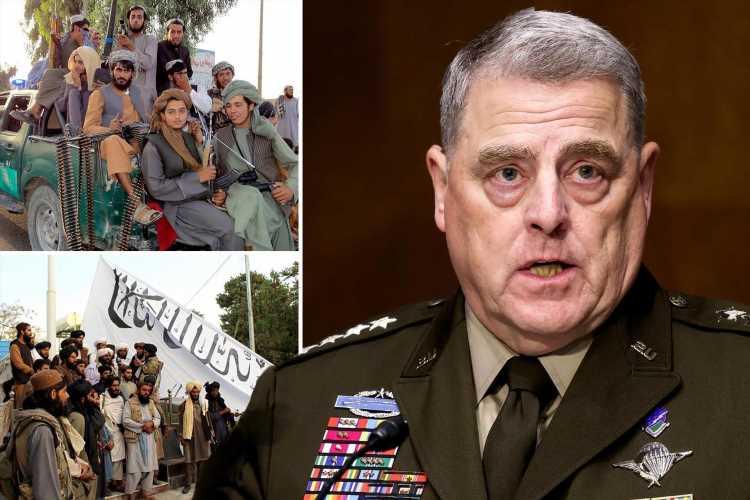 General Milley warns of terror threats to US homeland after Afghanistan falls to Taliban & US ambassador flees Kabul