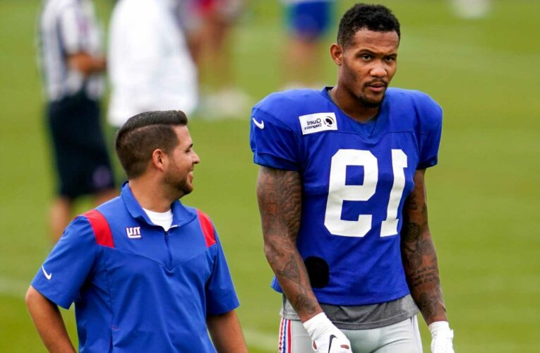 Giants get some good Kenny Golladay news after injury scare