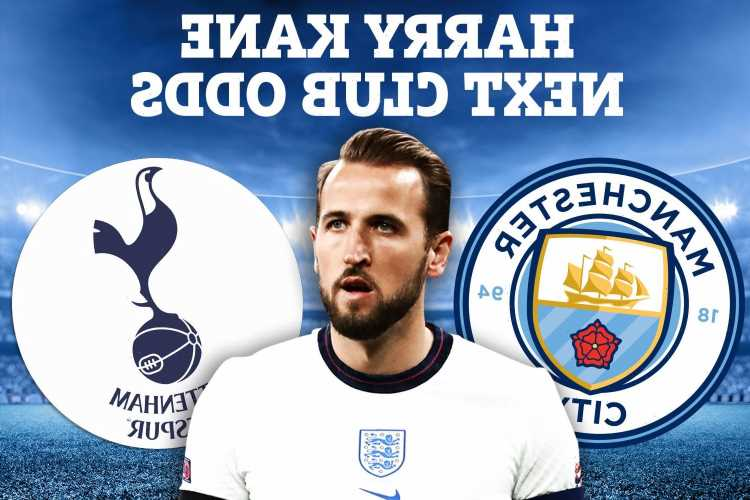 Harry Kane transfer news – Odds shift in Tottenham's favour as Man City prepare 'final move' for £150m England star