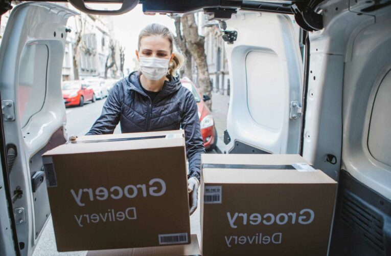 Home deliveries continue to increase after becoming the main form of shopping during the Covid-19 pandemic