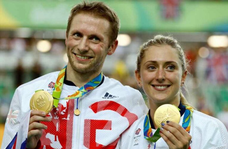 How many medals have Laura and Jason Kenny won in the Olympic Games?
