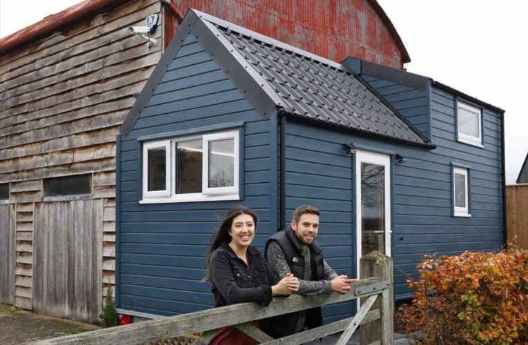 I built a tiny house during lockdown to save £60k – now I have financial freedom at 26