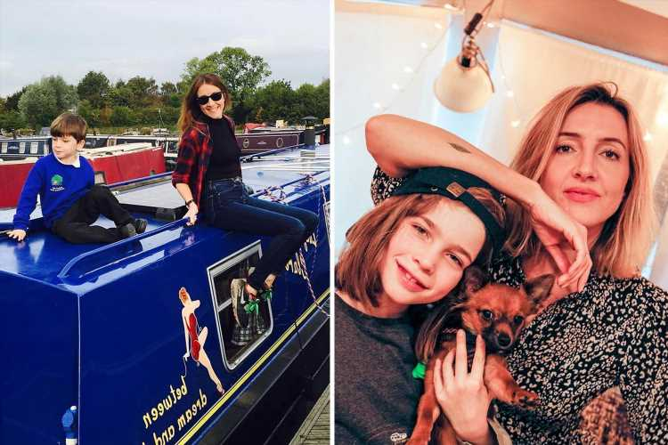 I couldn't pay my bills as a single mum – since moving onto a BOAT I've saved £870 a month, we even forage for food
