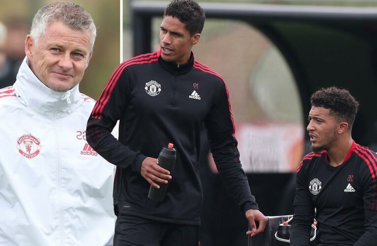 Jadon Sancho and Raphael Varane 'in contention' for first Man Utd start against Southampton following summer transfers