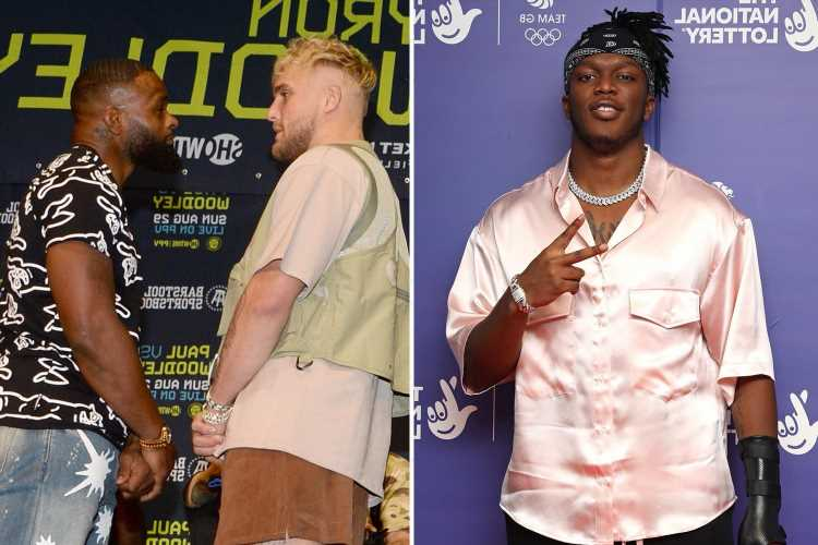 Jake Paul backed to 'absolutely destroy' ex-UFC champion Tyron Woodley in next fight by bitter YouTube rival KSI