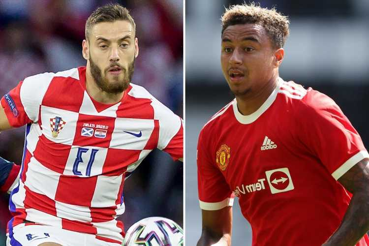 Jesse Lingard set to stay at Man Utd until at least January after West Ham sign Vlasic and James closes in on Leeds move
