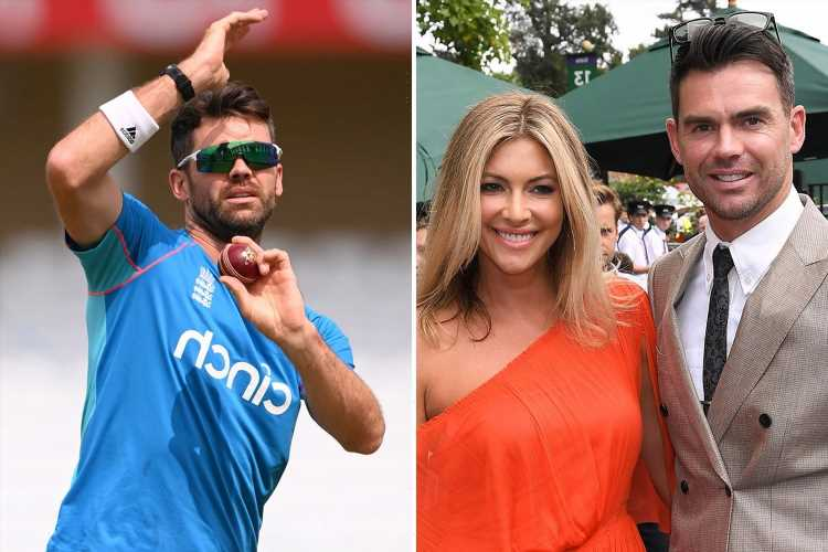 Jimmy Anderson reveals his wife Daniella talked him out of retiring and is 'happy for me not to be around the house'