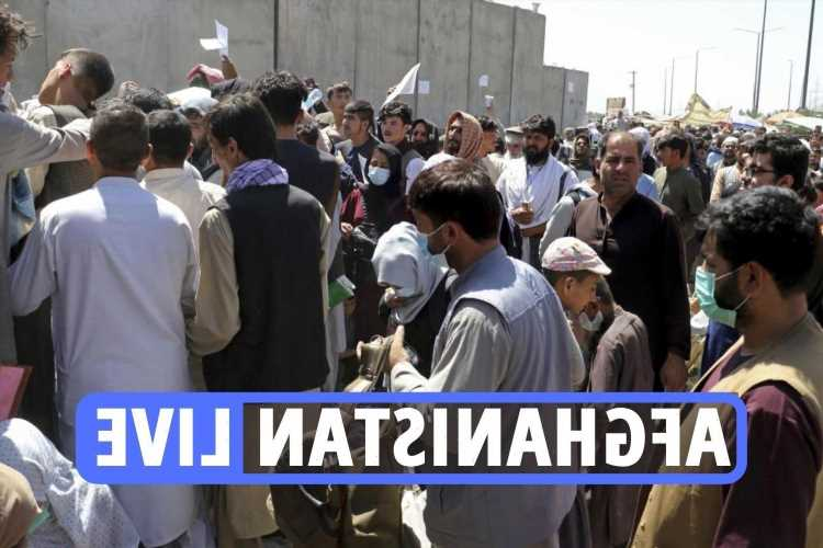 Kabul airport explosion – Huge blast and gunfire outside Afghanistan airport as thousands try to flee Taliban