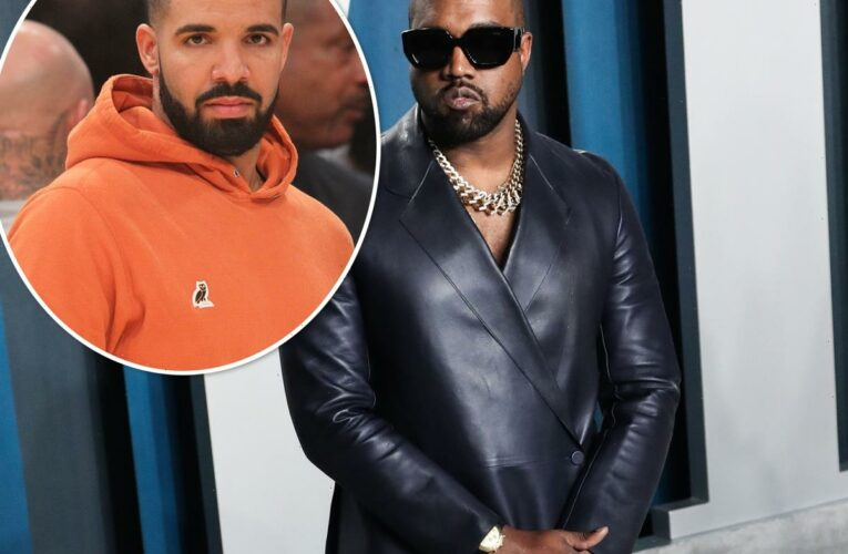 Kanye West Seemingly Responds To Drake's New Song Diss With A Super Ominous Text?!
