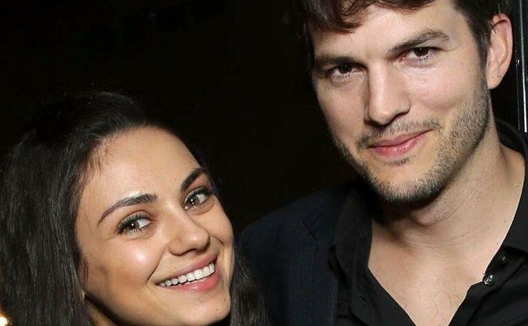 LOL! Mila Kunis, Ashton Kutcher Show Kids' Bath Time After Starting Debate