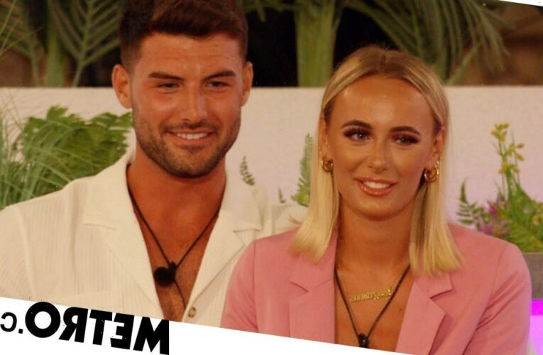 Love Island: Liam Reardon and Millie Court share a kiss as they go exclusive
