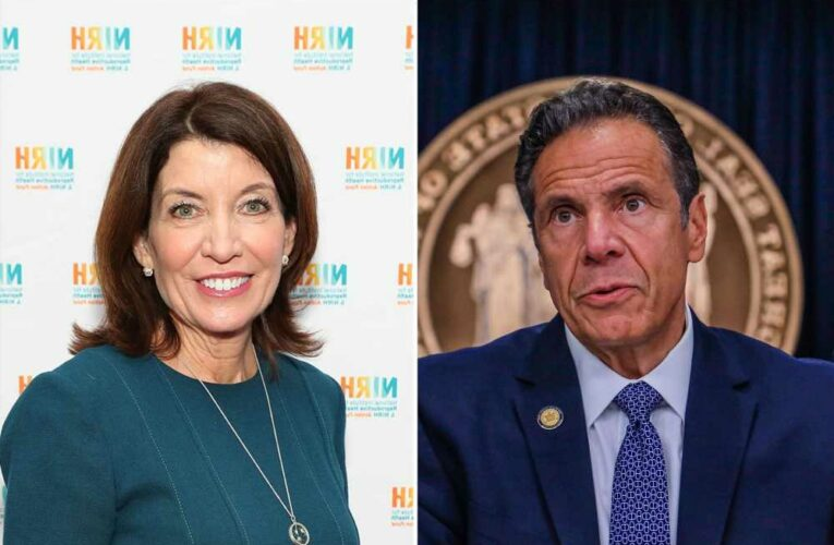 Lt. Gov Hochul turns on Cuomo after hes labeled serial harasser by AG