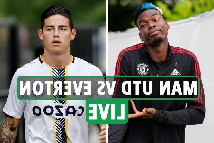 Man Utd vs Everton LIVE: TV channel, live stream, kick-off time and team news for TODAY'S pre-season friendly