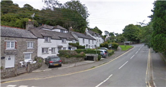 Man and woman found dead in picturesque Cornwall village home as cops launch probe