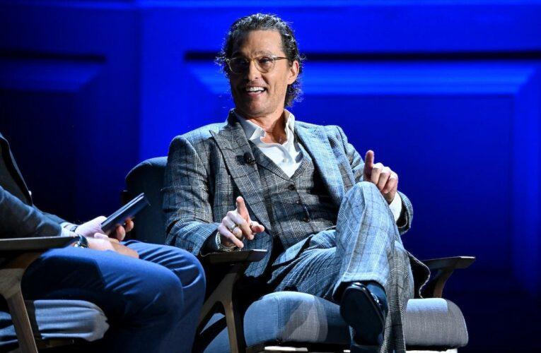 Matthew McConaughey Reveals He Hasn't Used Deodorant in Over 35 Years