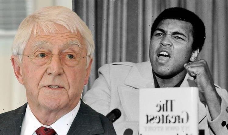 Michael Parkinson brands US TV legend a 'cheeky b*****d' over behaviour in Ali interview