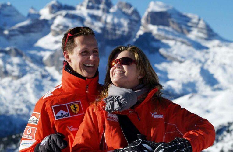 Michael Schumacher survived horror ski crash because his wife Corinna 'willed him to survive', says F1 legend's pal