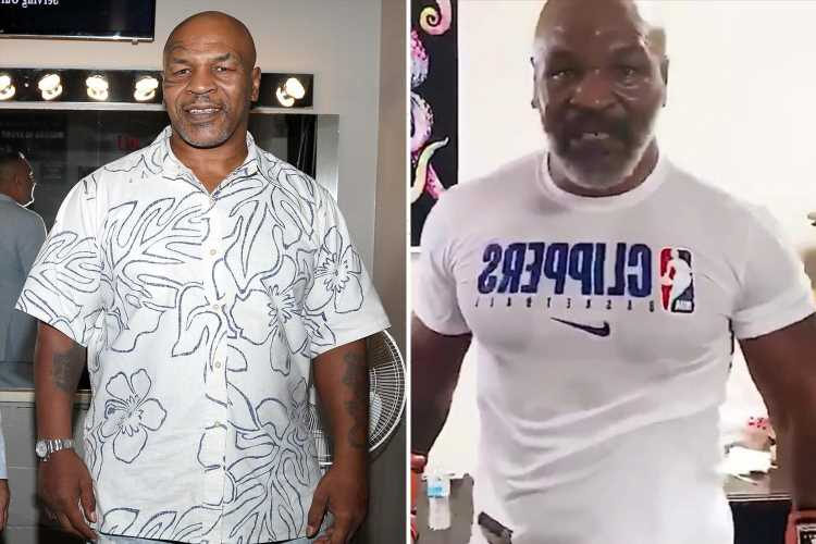 Mike Tyson's secret to his incredible shape at 55 thanks to new diet, cardio and 'weird' stem cell treatment – The Sun