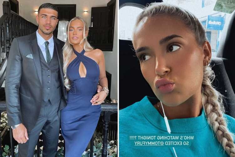 Molly-Mae Hague reveals she won't watch Tommy Fury ringside in US as she hangs out with Maura Higgins instead