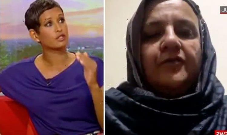 Naga Munchetty left heartbroken over Afghanistan scenes as women left fearing for lives
