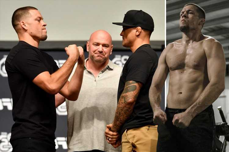 Nate Diaz reveals he's targeting December return after Poirier says he's selling 'wolf tickets' over UFC grudge match