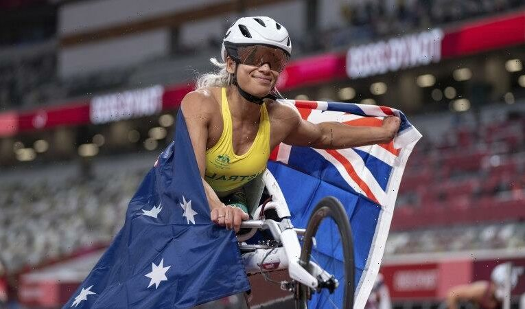 Olympic champion takes up equal prizemoney fight for Paralympians