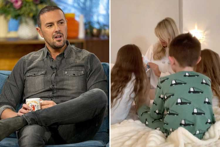 Paddy McGuinness forced to 'bite his lip' after stranger's comments about his autistic kids