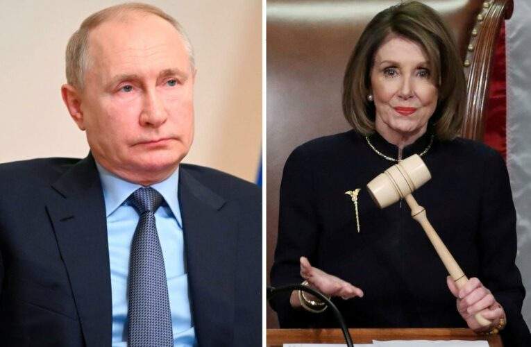 Pelosi is likened to 'dictator' Putin and branded a 'threat to constitutional liberty' by former speaker Gingrich