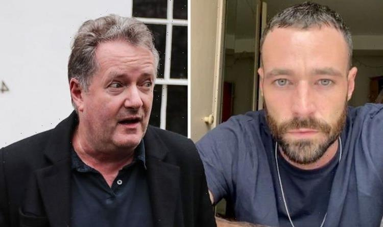 Piers Morgan brands Corrie star unhinged and selfish in clash over anti-vax protest
