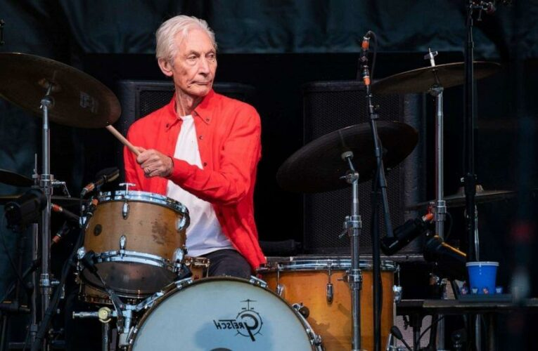 Rolling Stones drummer Charlie Watts dies at age 80